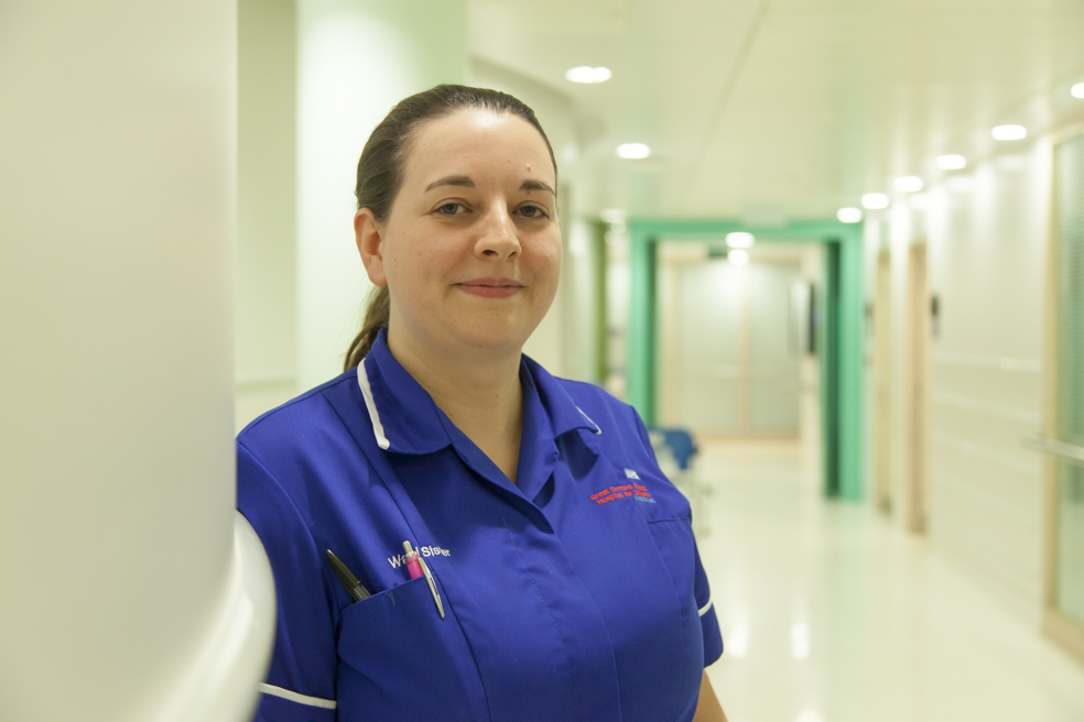Laura, Ward Manager