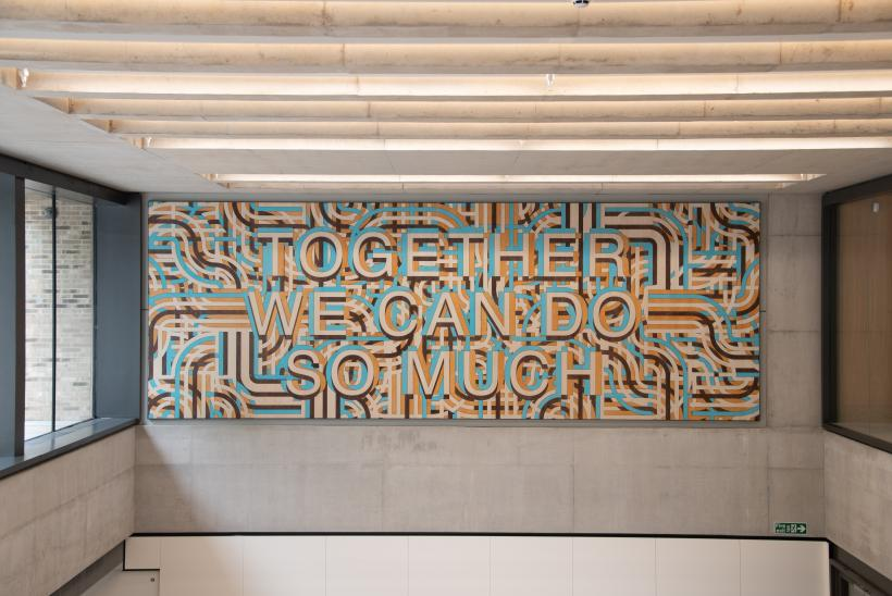 Together We Can Do So Much - by Mark Titchner