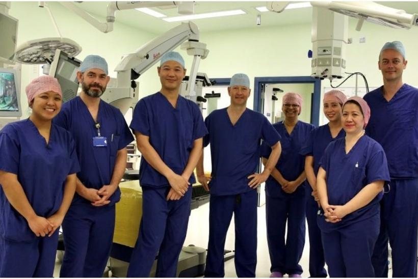 ophthalmology team