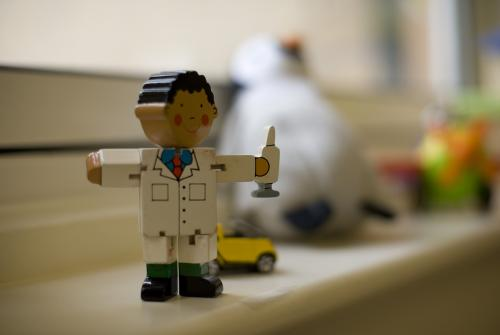 Toy doctor in GOSH playroom