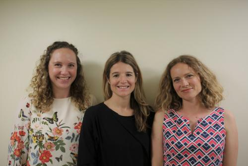 Dr Fiona Jeffries, Dr Zoe Berger and Dr Rebecca Sweet